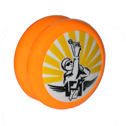 Atom / Атом (Orange)
